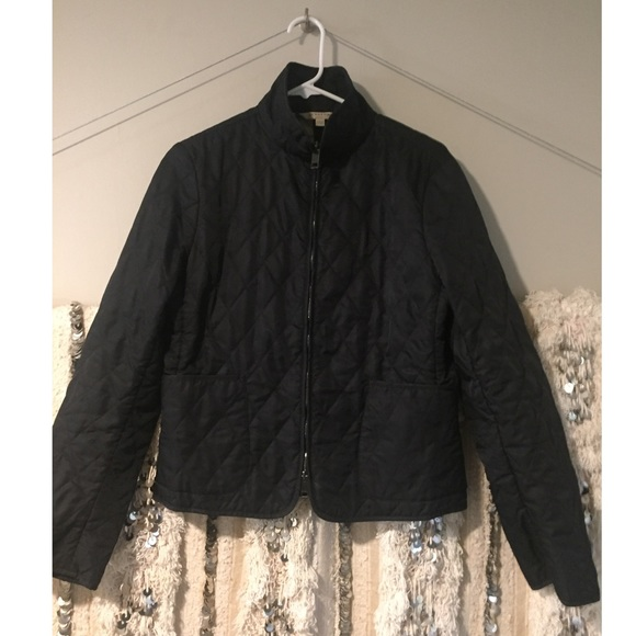 Burberry Quilted Duffle Coat Euc